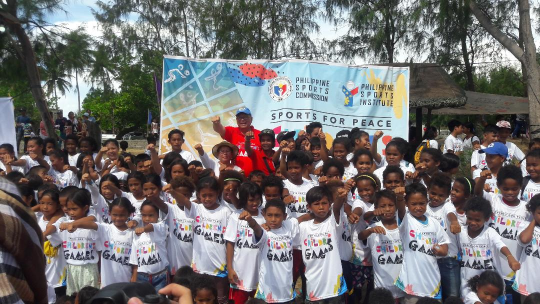 PSC follows Duterte mandate with launch of Sports for Peace Children's Games