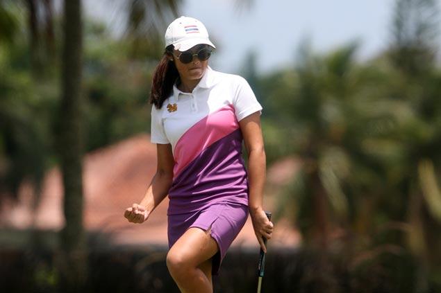 Thailand's Onkanok Soisuwan carries six-stroke lead into final round of Mt. Malarayat Ladies Classic