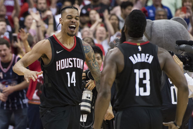 After contemplating retirement, Gerald Green returns to Houston a different man