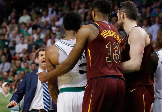 JR Smith branded a 'bully' for push on Al Horford, but insists no malicious intent