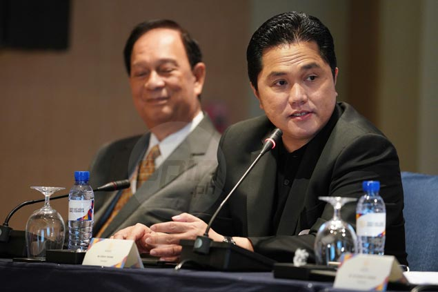Thohir lauds PH preparations for SEA Games, says country capable of hosting Asiad soon