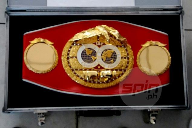Jerwin Ancajas accidentally leaves IBF title belt behind ahead of LA defense vs Sultan