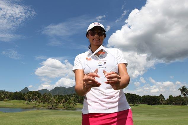 Thailand's Onkanok Soisuwan posts seven-stroke win at Malarayat in first tournament as a pro