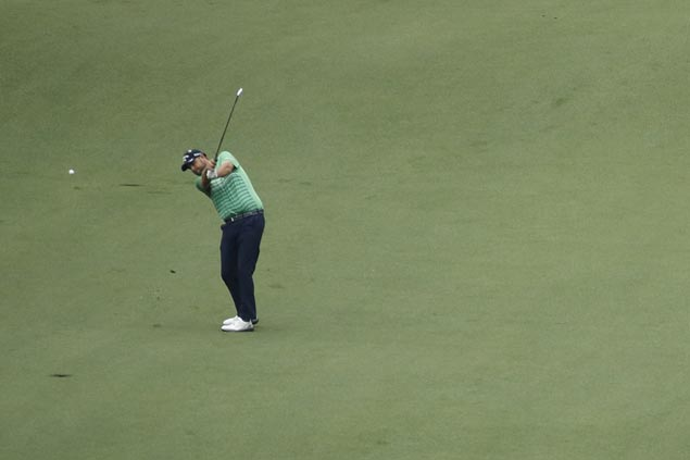 Marc Leishman fires 10-under 61 in Byron Nelson at links-style Trinity Forest course