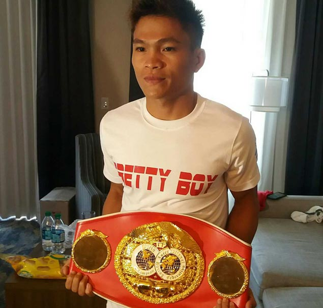 Jerwin Ancajas finally reunited with his title belt. Now all he needs to do is defend it