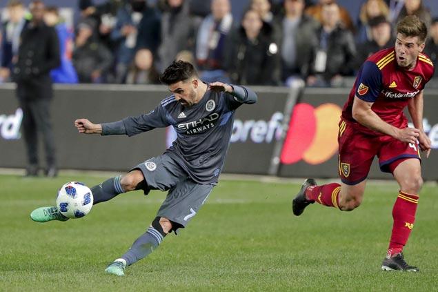 David Villa nets brace, makes assist as NYC downs Colorado on 'David Villa Day'