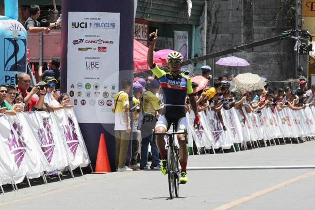 Ronald Oranza takes Le Tour de Filipinas lead with victory in Cabanatuan to Bayombong stage