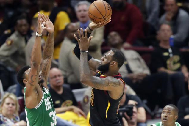 LeBron passes Kareem for NBA postseason field goals record as Cavs even series with Celtics