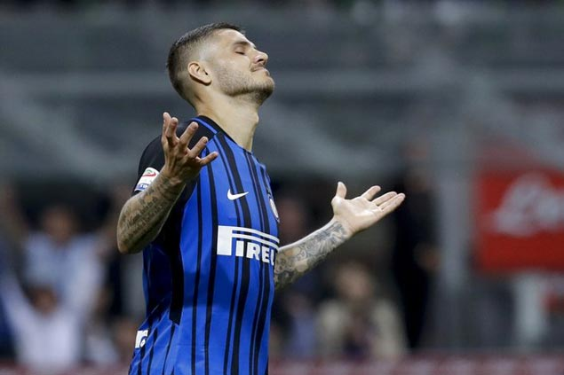 Serie A joint top-scorer Mauro Icardi left out of Argentina's World Cup squad