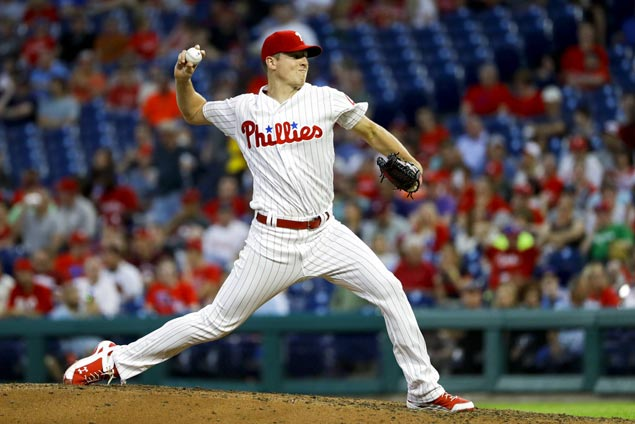Nick Pivetta tosses seven scoreless innings to power Phillies past Braves