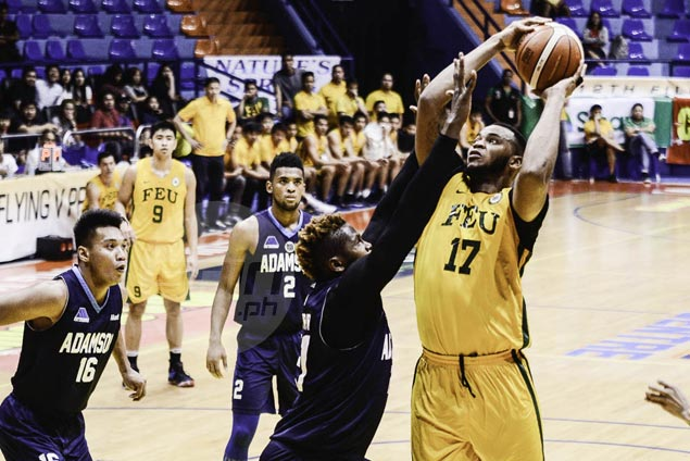 Prince Orizu stars as FEU Tamaraws bounce back with big win over Adamson Falcons