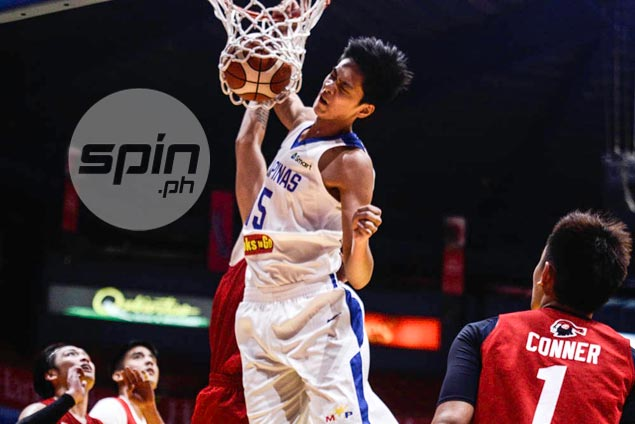 Juan Gomez de Liano's clutch basket rescues Gilas cadets from another loss at hands of UE