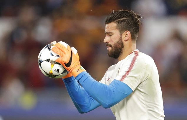 Debuting Alisson is Brazil's first-choice keeper for World Cup