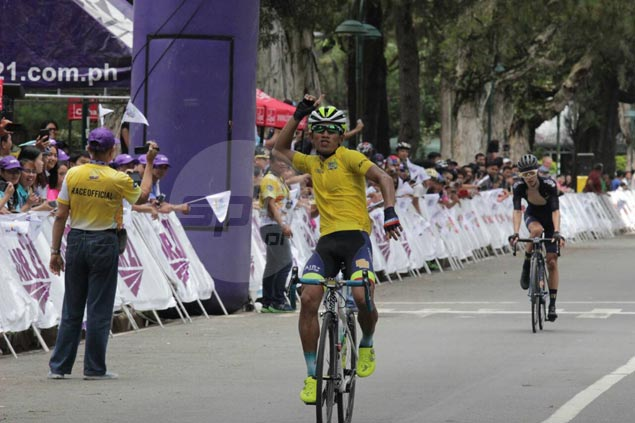 El Joshua Carino places strong third in Baguio climb to become third Filipino to win Le Tour