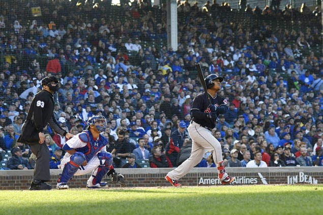 Jose Ramirez hits 14th homer of season as Indians rout Cubs