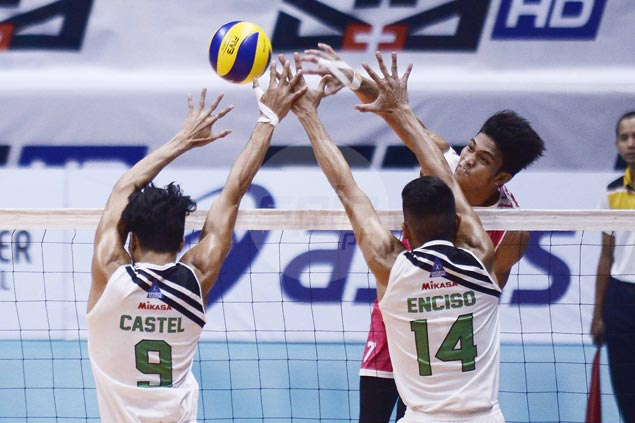 Vice Co. beats IEM in four sets for second victory in PVL men's tournament