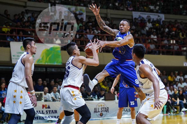 Barroca, Amer star in Mindanao win over Gilas as speed trumps size at PBA All-Stars