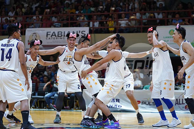 Double celebration as Mindanao All-Stars beat Gilas Pilipinas also in dance-off