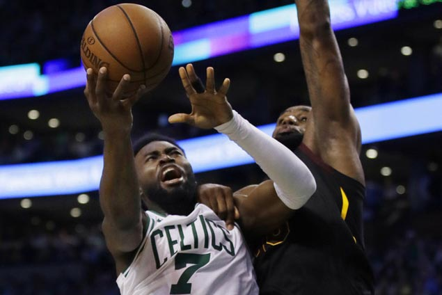 Celtics remain unbeaten in 10 playoff games at home, take East finals lead with Game 5 rout of Cavs
