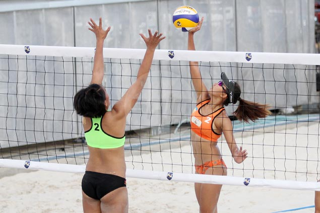 Ceballos-Orendain down Bautista-Gendrauli to reach PSL beach volley quarterfinals