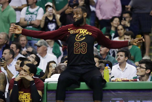 Celtics one win away from Finals as LeBron, Cavs run out of steam in Game Five