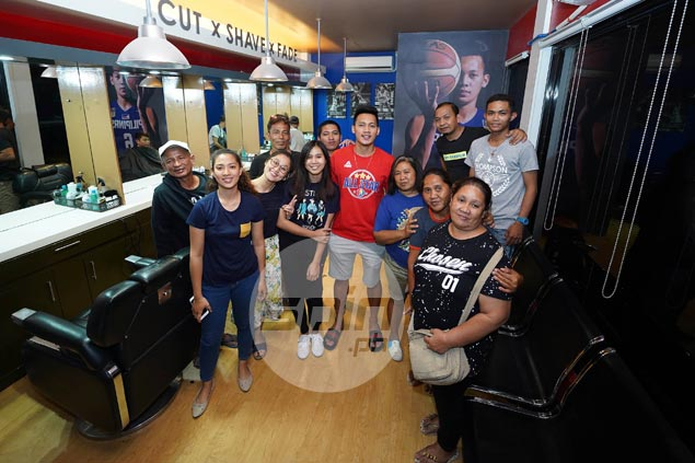 Scottie Thompson's career is on the up - and business is good in his barbershop