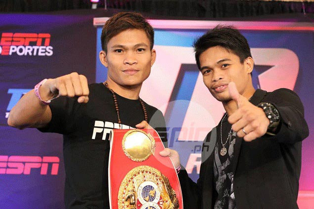 No trash talk, only respect as Ancajas, Sultan face off before world title fight