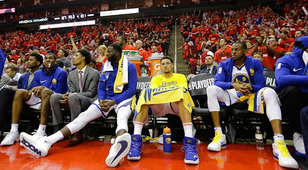 Andre Iguodala out, but Klay Thompson healthy for Game Five of West Finals