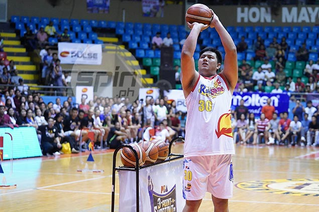 Belga bares he had a big meal - and zero practice - before winning Skills Challenge
