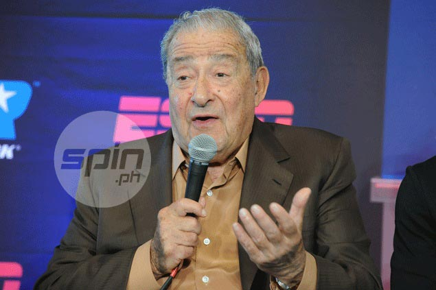 Bob Arum says he and former prized ward Pacquiao 'still very friendly'