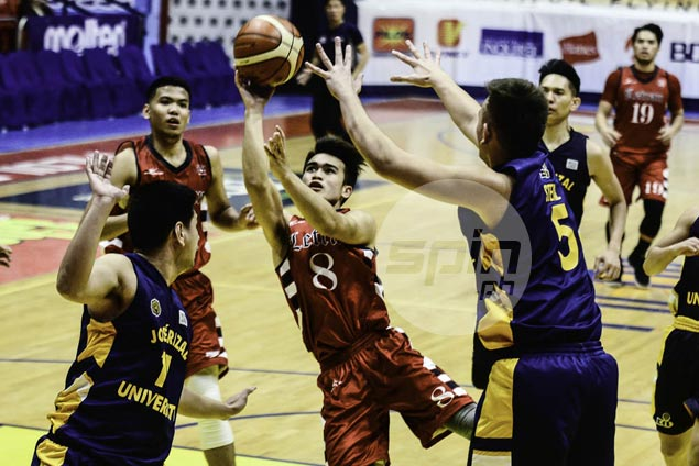 Letran, Adamson dispatch separate foes to stay above .500 in Filoil Cup