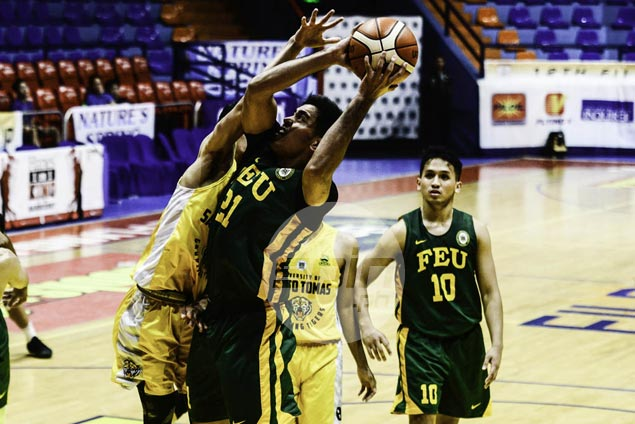 FEU Tamaraws overcome UST Tigers' upset bid to sustain sizzling Filoil Cup run