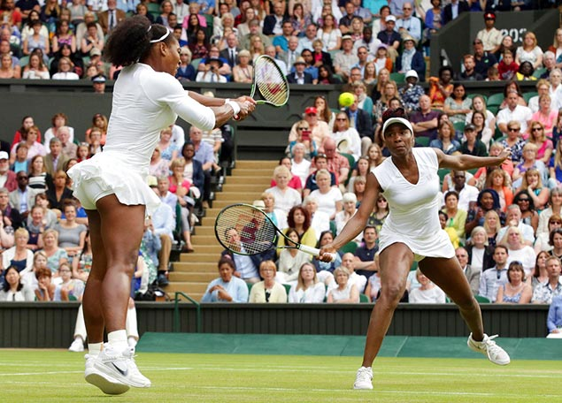 Serena, Venus reunite in doubles for first time in two years as Williams sisters compete at French Open