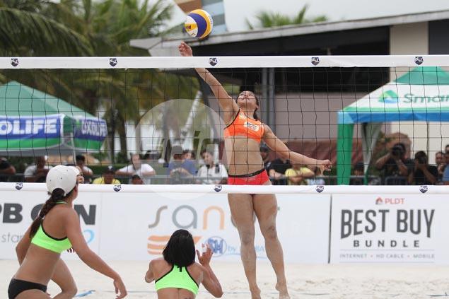 Rondina-Pons battles Ceballos-Orendain for spot in PSL beach volley final