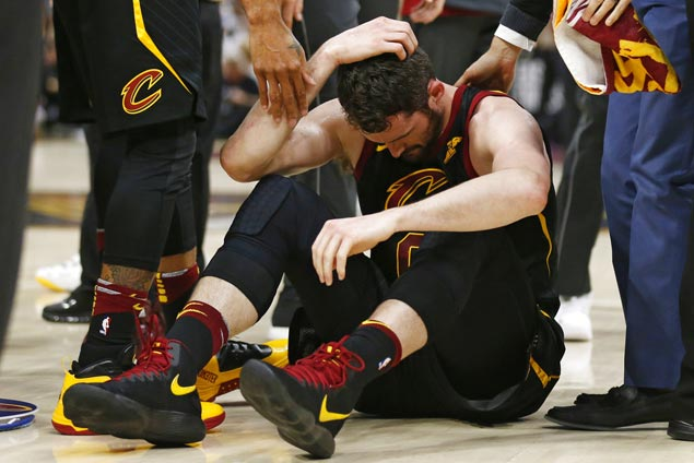 Kevin Love status for Game Seven unknown due to head injury