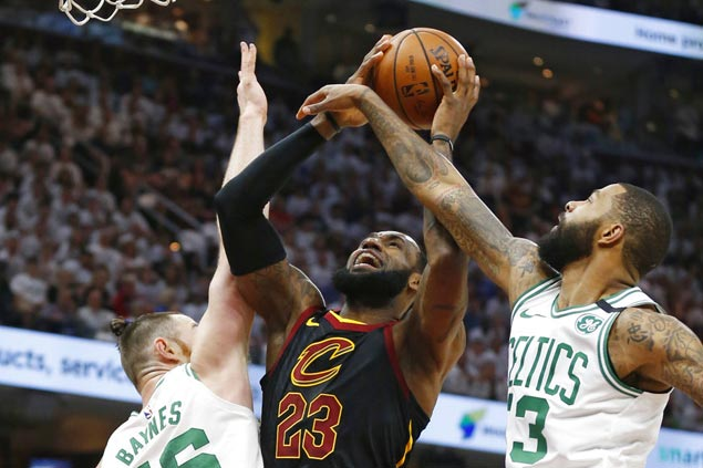LeBron James scores 46 as Cavs beat Celtics to force East finals decider