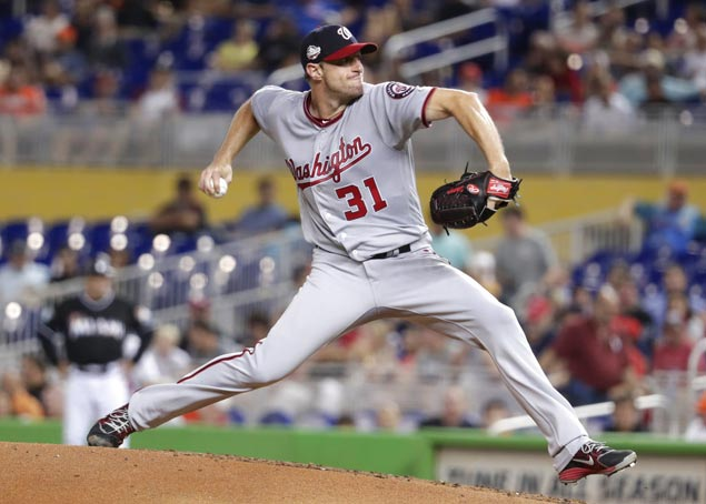 Despite unsightly outing by his standards, Max Scherzer earned his NL-leading 8th win as Nats beat Marlins