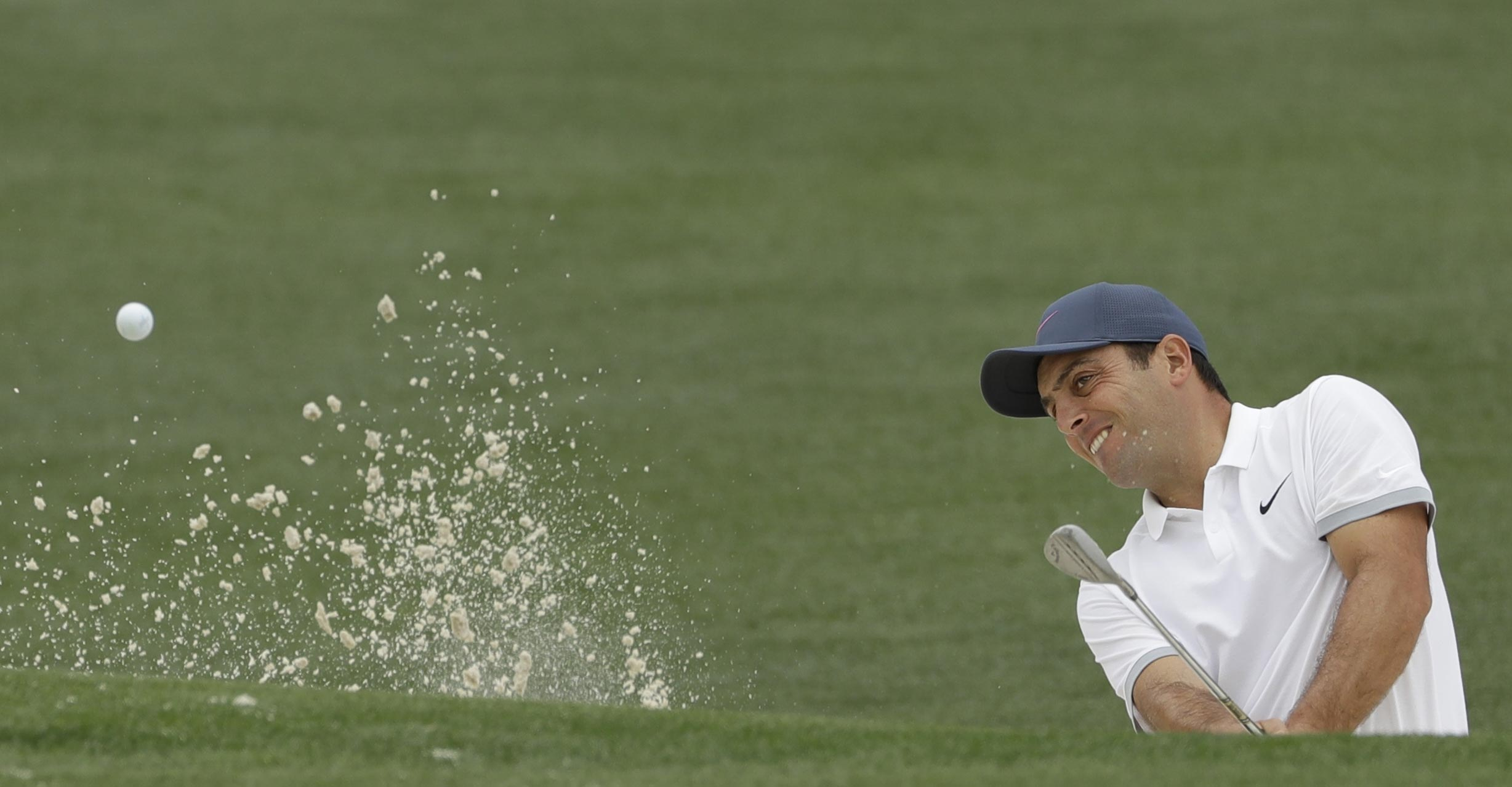 Francesco Molinari goes bogey-free in tough conditions at Wentworth for share of lead with Rory McIlroy