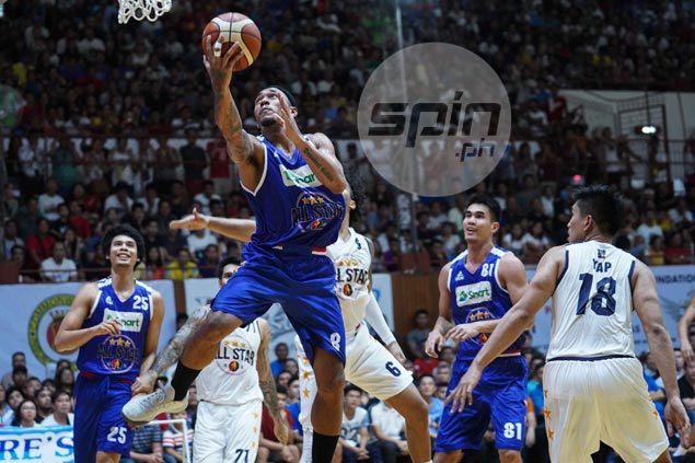 Calvin Abueva's 41-27 game not enough to save him from going 0-3 in All-Stars