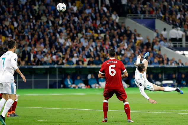 Bale wonder goal, Salah injury mark Real Madrid march to Champions League treble