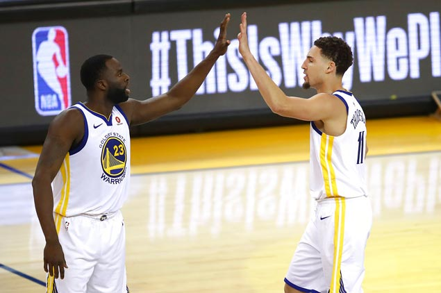 Klay's always been the understated one among four Warriors All-Stars. Not anymore