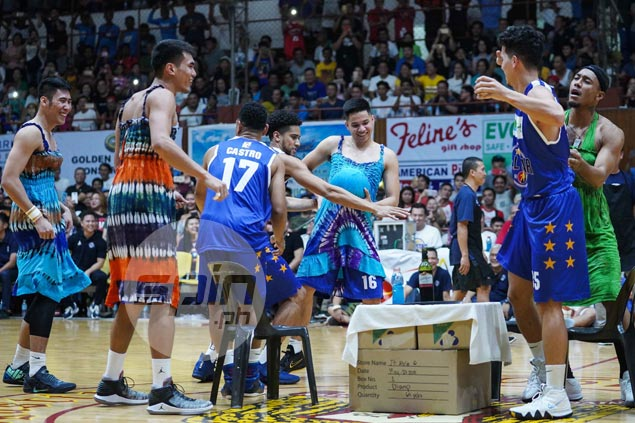 Gilas Pilipinas earns consolation with dance-off win against Visayas All-Stars