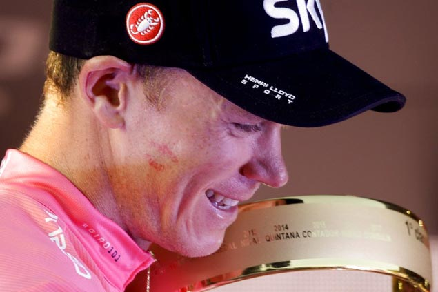 Racing under cloud of potential drug ban, Giro champ Chris Froome sets sights on Tour