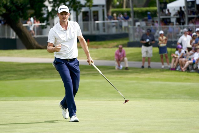 Justin Rose keeps bid for No. 1 on track, goes 20 under at Hogan's Alley for three-stroke win