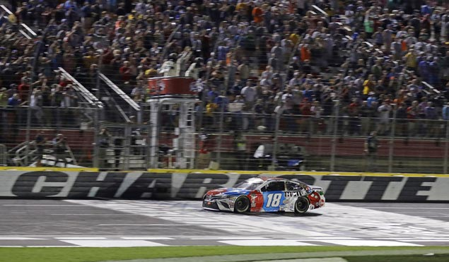 Kyle Busch blows past field in Charlotte for fourth victory of the season