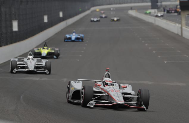 Not a fan of ovals, Will Power ends up topping Indianapolis 500