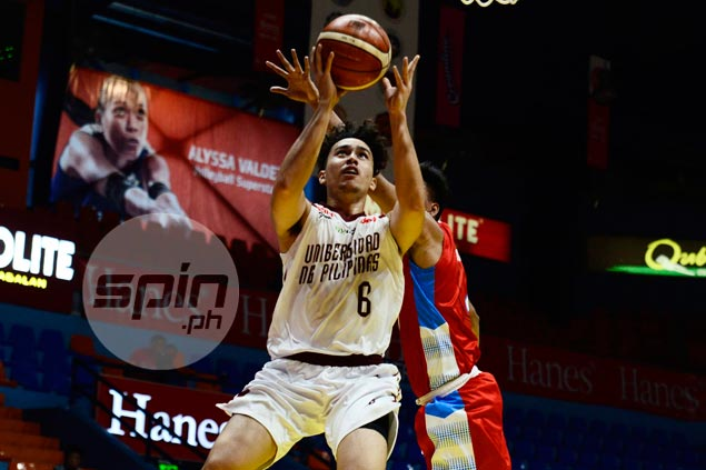 Javi Gomez de Liano steps up in brod's absence, leads UP Maroons romp over EAC