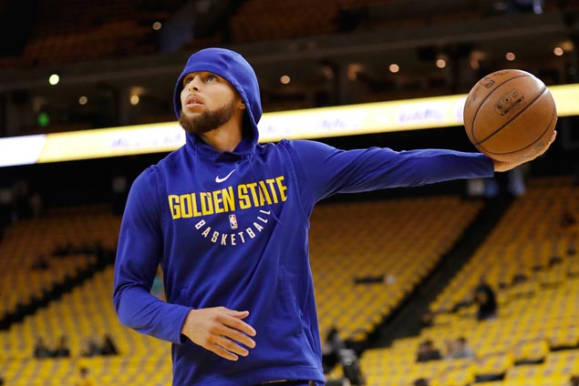 Steph Curry, Warriors embrace pressure ahead of Game 7: 'You've got to want it'