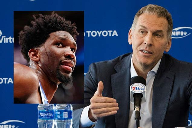 Sixers GM denies report linking him to Twitter accounts that leaked team info, criticized players