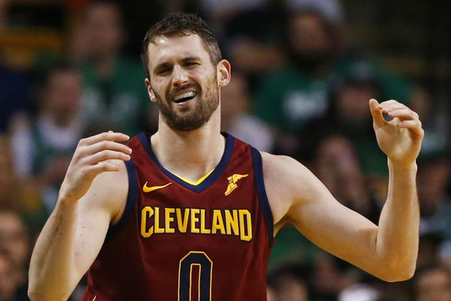 Kevin Love status for Game One still unclear as he remains in concussion protocol